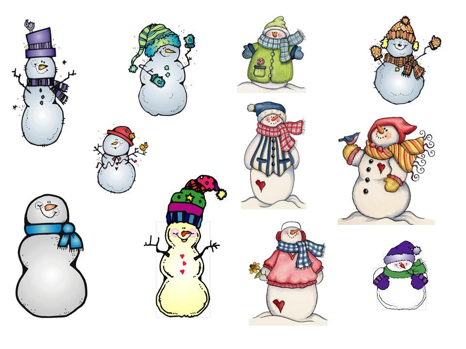 Snowman clip art free 2 - Clipartix