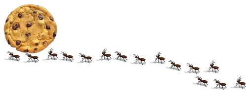 Ants Marching drawing