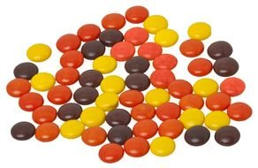multi-colored sweets like buttons