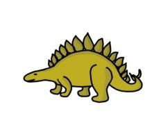 Dinosaur Clip Art drawing