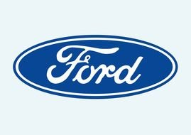 Ford logo drawing