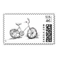 postage stamp drawing