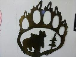 Bear Paw Print drawing