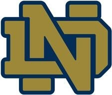 Notre Dame Football Logo Vector Fighting Irish