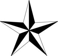 Texas Star drawing