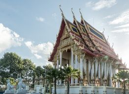 temple in Thailand Asia