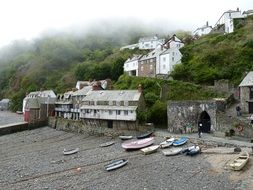 clovelly village in England