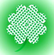 four leaf clover drawing