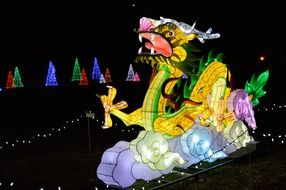 funny chinese dragon festival