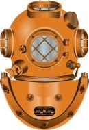 diving helmet in military