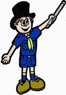 Cub Scout drawing