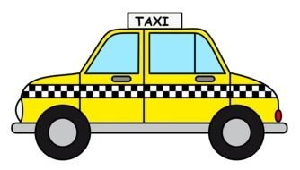 Clipart of Taxi