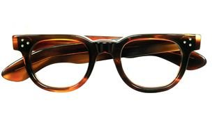 brown eyeglass photo