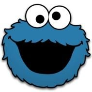 Cookie Monster Free Panda Images
