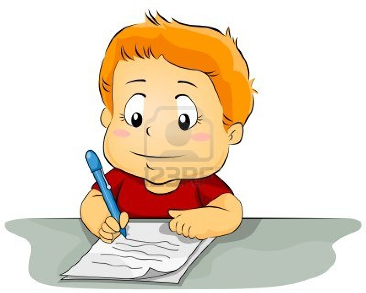 displaying 18&gt images for children writing clipart free image