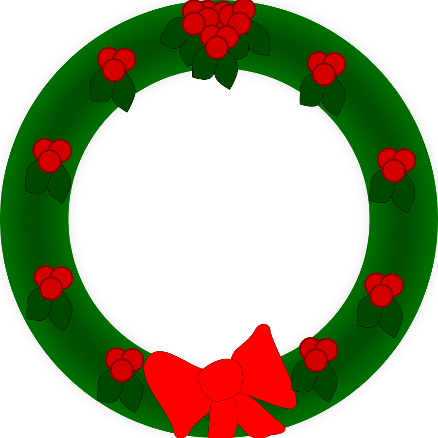 Clipart Christmas Garland Free Clipart Image Image - Christmas Poinsettia  Clipart - Free Transparent PNG Clipart Images Download