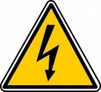 power line sign