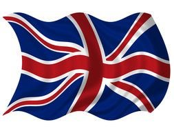 Union Jack British Flag drawing