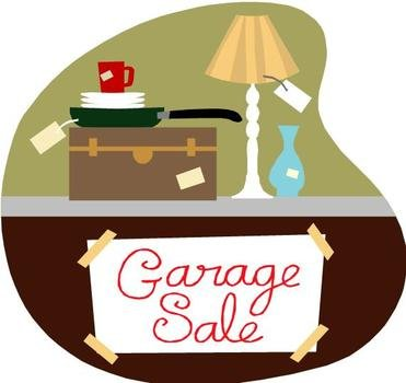 clipart for garage sale