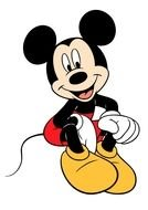 Happy Mickey Mouse clipart