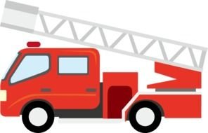 red Fire Truck drawing