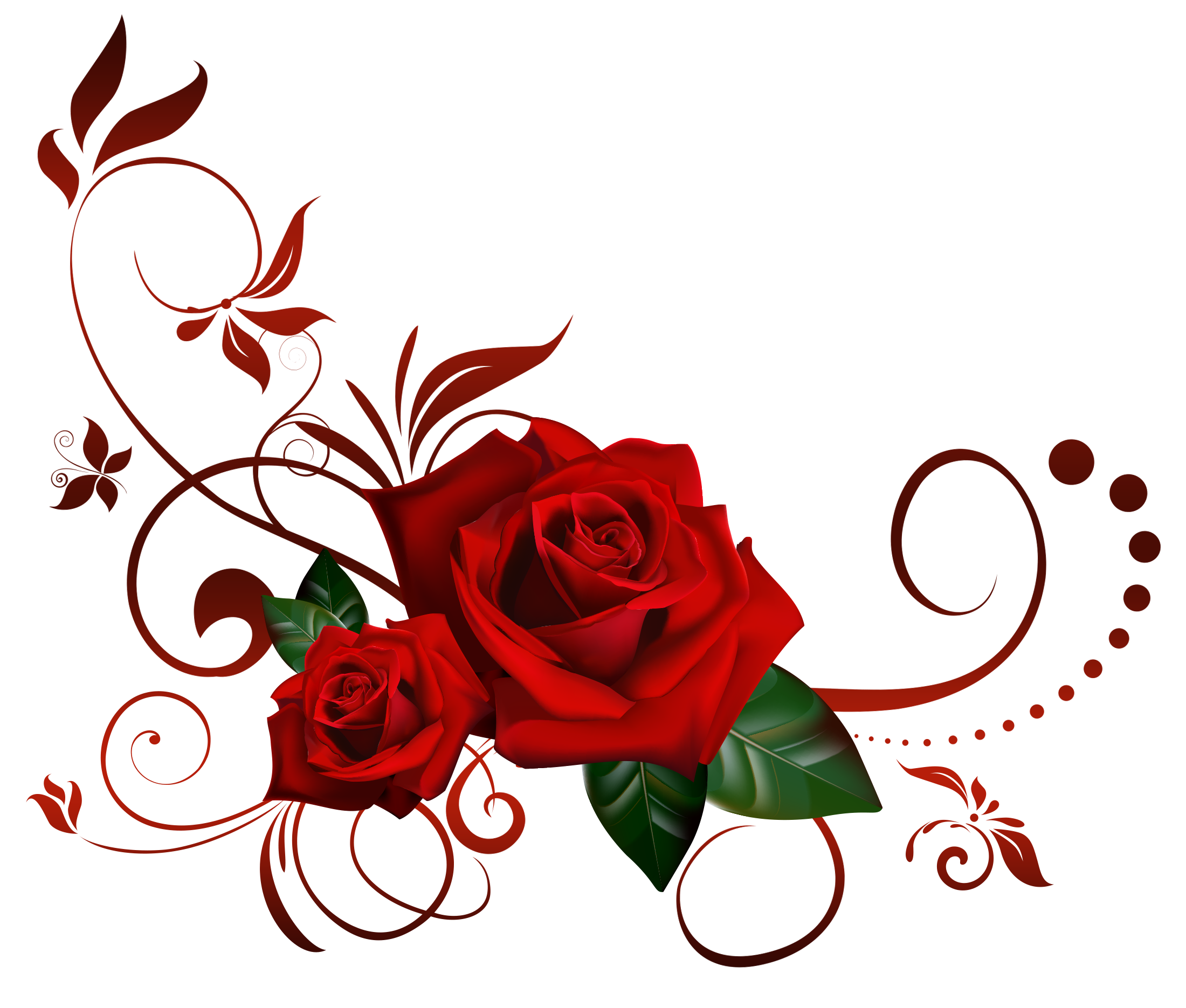 Red Rose Png Flowers Images And Transparent Background Clipart Free
