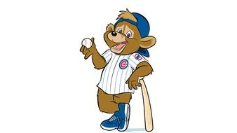 Chicago Cubs Introduce First Official Mascot drawing