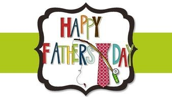 clipart of the happy fathers day greeting card