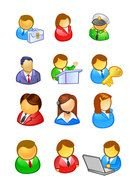 People In The User Icon drawing