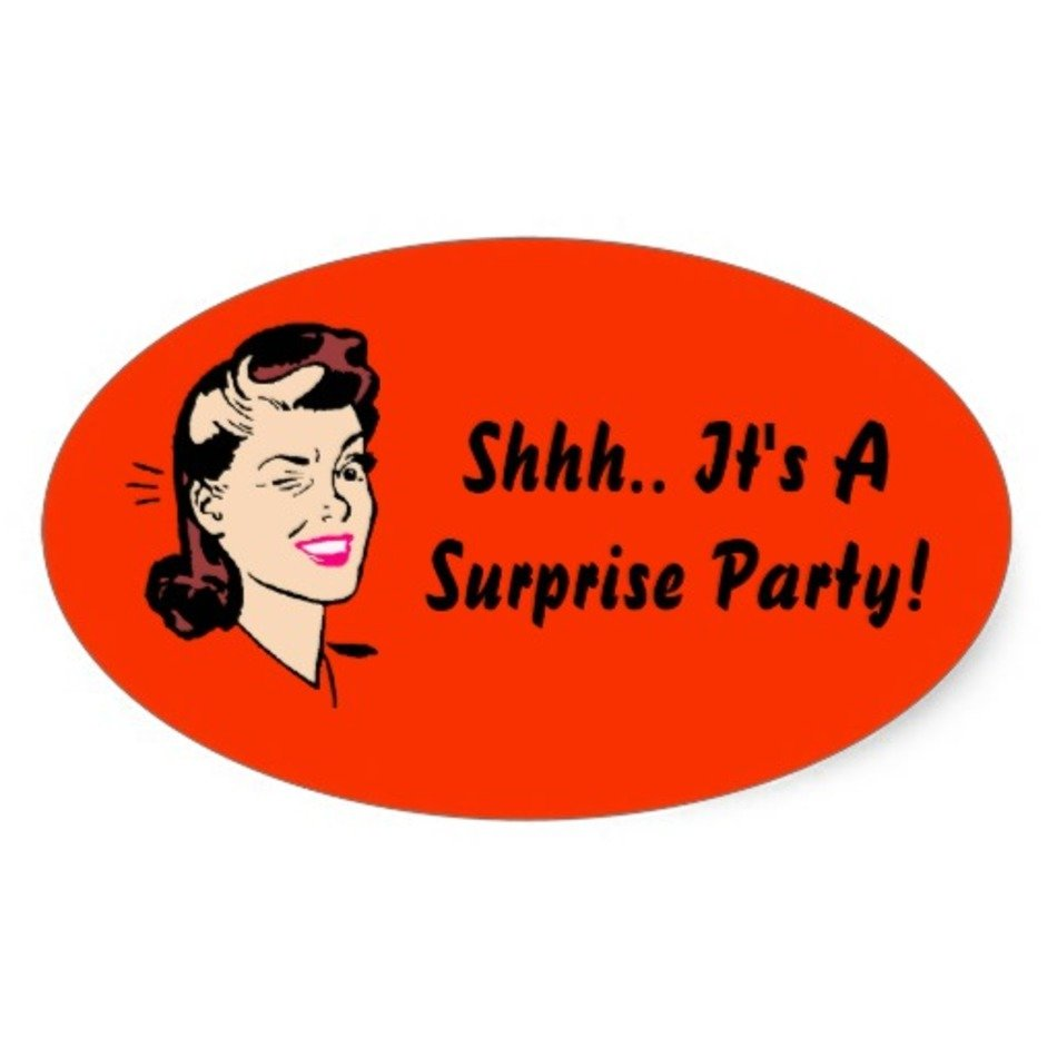 shhh its a surprise stickers sticker pictures free image
