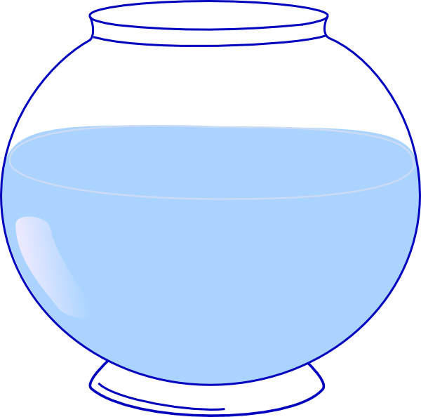 fish bowl clipart free image https creativecommons org licenses by nc nd 4 0