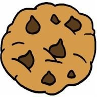 chocolate chip cookie for clipart
