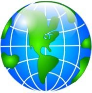 Clipart of Globe