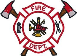 Fire Department Logo clipart