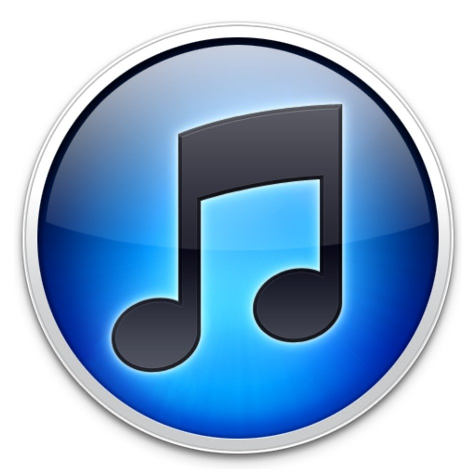 blue music button