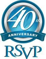 Clipart of 40th Anniversary logo