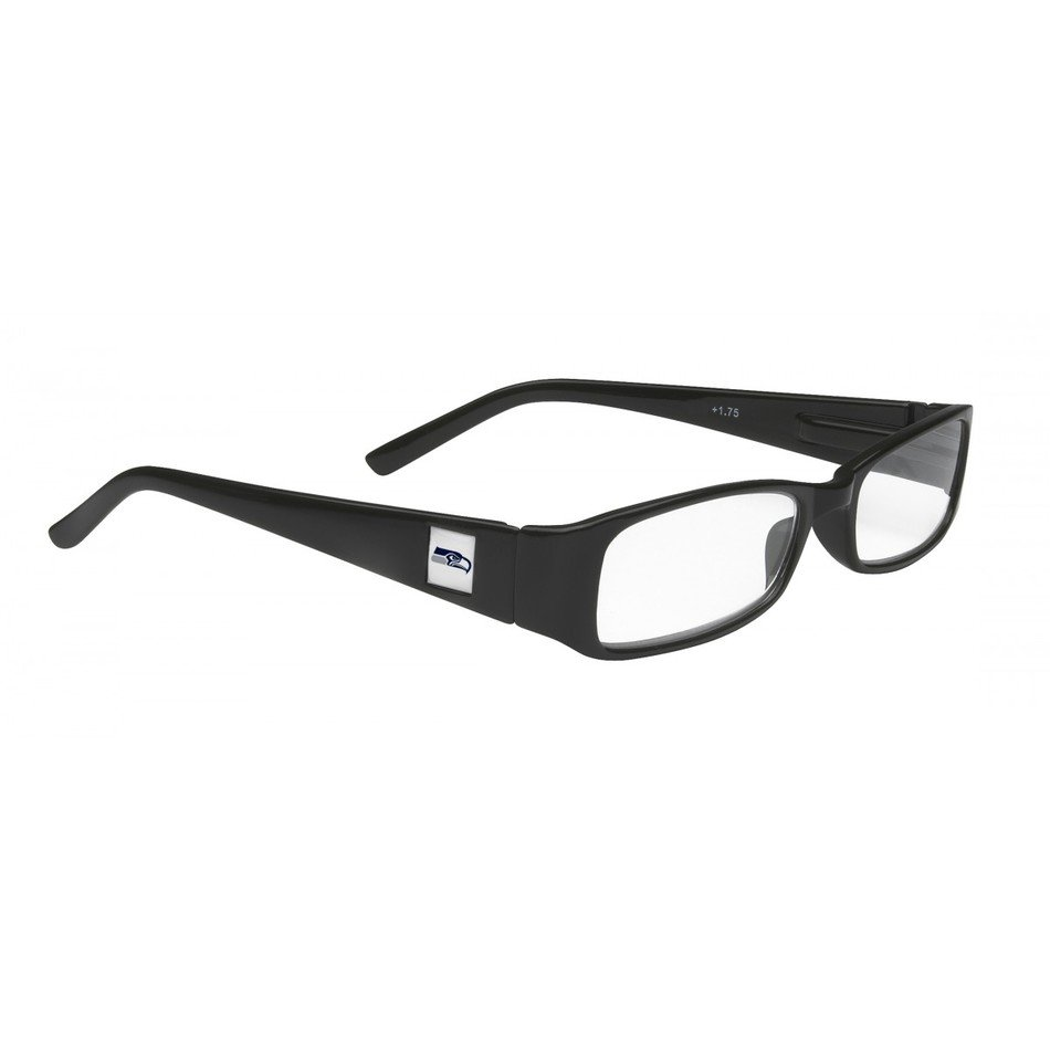 isolated black reading glasses