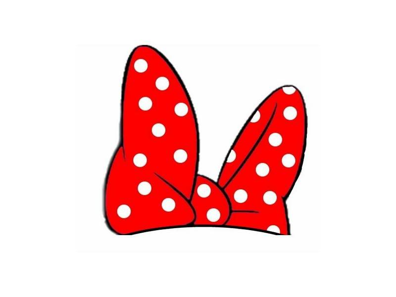 Red Minnie Mouse Bow Panda Free Images