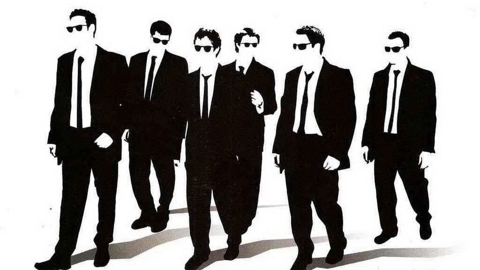 men in black suits