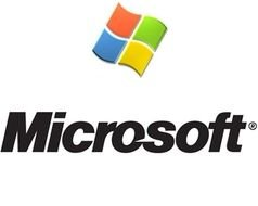 microsoft logo with a pattern on a white background