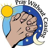 clipart of the pray without ceasing
