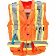 Orange Safety Vest Surveyor