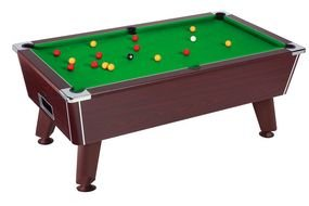 Clip art of a pool table