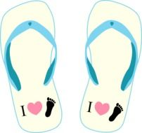 thongs bathing shoe slippers