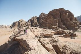 Jordan wadi rum middle east