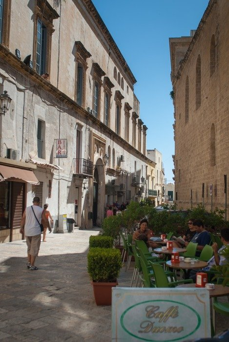 historic center in Salento