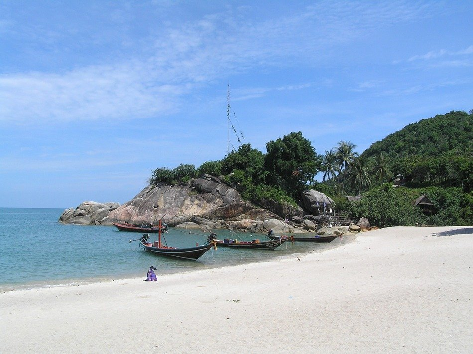 very beautiful beach thailand