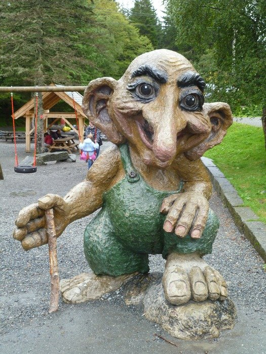 Statue of the Norwegian Troll