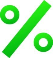 Green Percentage Sign Free Algebra
