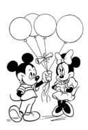 Mickey Mouse Coloring Pages drawing